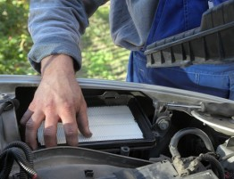 change car air filter