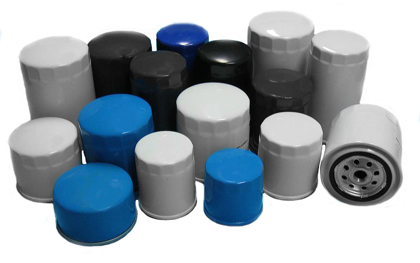 Oil Filter on Internal Combustion Engine Parts